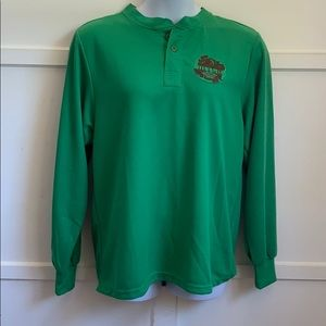 Green Long-sleeve Ditch
